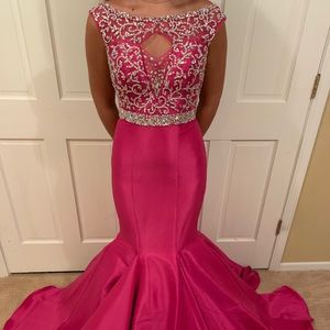 Pink pageant/ prom dress!